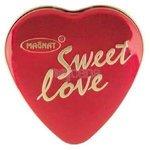 Magnat Sweet love vanilkové pralinky v plech.srdci 51g