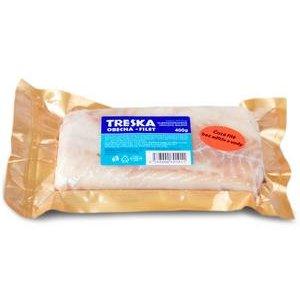 Filety z tresky obecnej mrazené Ryba 400g