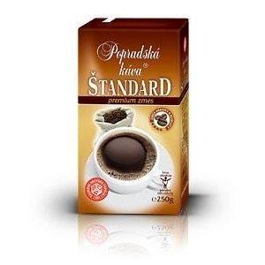 Káva Popradská Štandard vákuová 250g 1+1