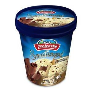 Zvolenská smotanová zmrzlina 420ml/stracciatella