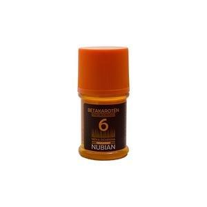 NUBIAN-olej na opaľovanie OF6 - s betakaroténom (číry) 60ml