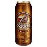 Pivo Velkopopovický kozel Tmavý 0,5l/plech
