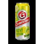 Pivo Gambrinus 10° v plechovke 0,5l