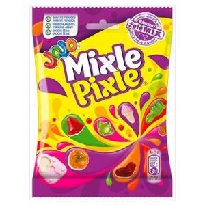 JoJo Mixle Pixle - mix zele cukrikov s ovocnymi prichutami 80g