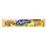"""Delissa """"Krehká"""" oblátka s citronovou náplňou zdobená čokoládou 34g"""