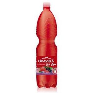 Oravska Red Line Lesne plody - jemne perlivy nealkoholicky napoj 1,5l