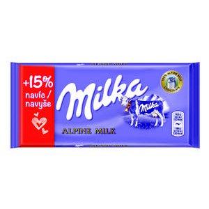 Čokoláda Milka mliečna 115g