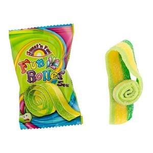 Fun Roller - jablkové želé pásiky 20g