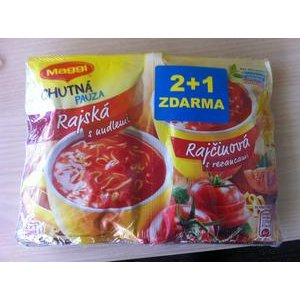 Polievka Maggi Rajčinová s cestovinami inst.42g - 2+1 Zadarmo