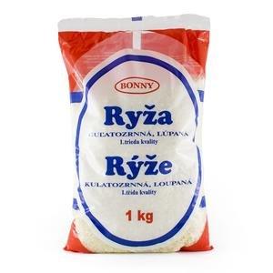 Ryža guľatozrnná Bonny 1kg