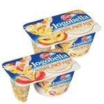 Jogobella Breakfast Nuts müsli 125g-ovoc.jogurt (jahoda/broskyňa) s orieško.müsli