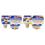 Jogobella Breakfast Choco crunchy 125g-ovoc.jog.(banán/čučoriedka) s čoko.müsli