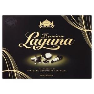 Carla Laguna Morské plody-pralinky s orieškovou náplňou z horkej a bielej čok.250g