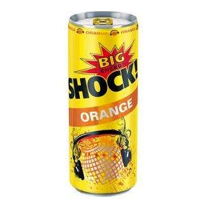 Big Shock Orange Energetický nápoj ochutený 250 ml