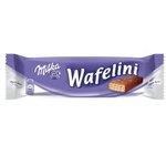 Milka Wafelini plnené oblátky v mliečnej čokoláde 31 g