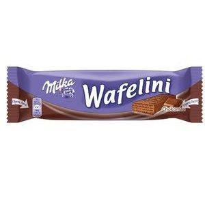 Milka Wafelini kakaové oblátky v mliečnej čokoláde 31 g