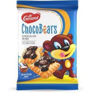 Choco Bears dr.Gerard - sušienky so smotanovým krémom a čokoládou 280g