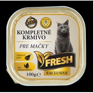 Krmivo pre mačky - Šunkové paté vo vaničke Fresh Exklusive 100g