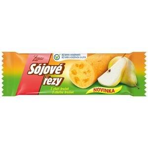Sojové rezy Zora s chuťou hrušiek 50g