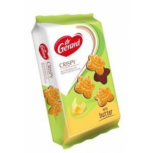 Dr.Gerard Leaves - sušienky v tvare lístkov v kakaovej poleve 165g