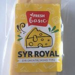 Fresh Royal syr 45% - syr ementalskeho typu 200g