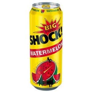 Big Shock Watermelon Energetický nápoj perlivý 500 ml