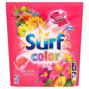 Surf Color Tropical Lily  a  Ylang Ylang - gélové kapsuly na pranie 15 ks