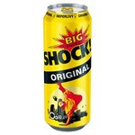 Big Shock Original - energetický nápoj perlivý 500 ml