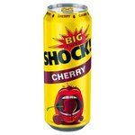 Big Shock Cherry - energetický nápoj perlivý 500 ml