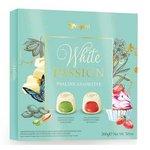Dezert VerganiI White Passion pralinky pistáciové a jahodové v bielej čokoláde 215g