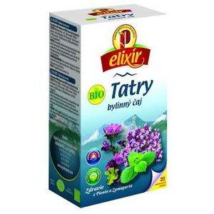 Čaj Elixír Bio Tatry Agrokarpaty - bylinný v hyg.prebale 30g