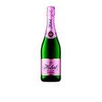 Hubert de Luxe Rosé doux - šumivé rúžové sladké víno 0,75l