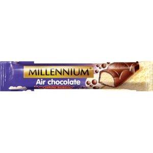 Millennium Air Milk-tyčinka z bielej vzdušnej čokolády v mliečnej čokoláde 32g