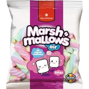 Marshmallows Millennium - penové cukríky 225g