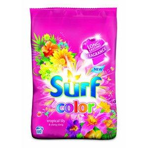 Surf Color Tropical Lily  a  Ylang Ylang - prášok na pranie 60 praní/4,2 kg