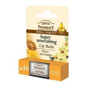 Balzam na pery Green Pharmacy - Med a Vanilka 3,6g