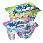 Monte Šmolkovia - Mliečny dezert čoko-orieškový s kúskami sušienok 125g