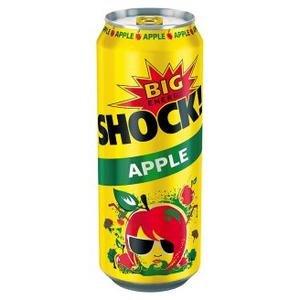 Big ShockApple Energetický nápoj perlivý 500 ml