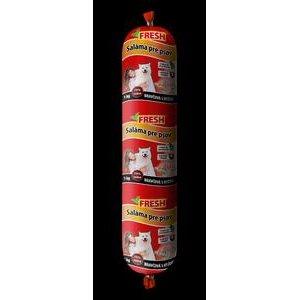 Saláma pre psov FRESH - Bravčová s ryžou 1kg