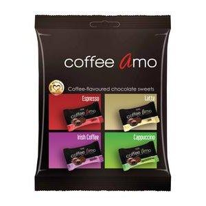 Coffee Amo - cokoladove fure s kavovou naplnou100 g