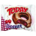 Elvan Today Donut - koláčik zo šľahan.cesta s višňovou náplň.v kakao poleve 50g
