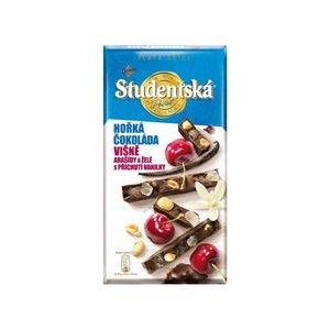 Študentská pečať Zlatá edícia - Horká s kúskami Višní a s Vanilkovýn želé 170g