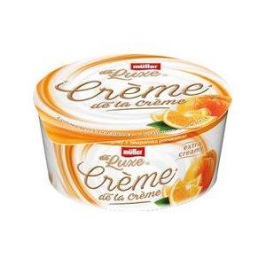 Müller de Luxe Créme de la Créme - Tvarohový krém s Pomarančom 135 g