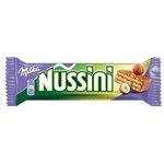 Milka Nussini Milk - Oblátky s orieško-kakao.náplňou s kúskami orechov v čok.31,5g