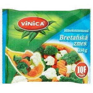 Hlbokomrazená zeleninová zmes bretaňská 350g Vinica