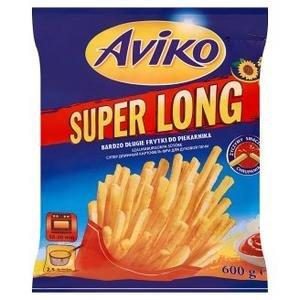 Zemiakové hranolky Super long 600g Aviko