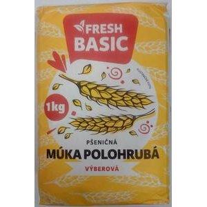 Pšeničná múka Polohrubá Výberová Fresh Basic 1 kg