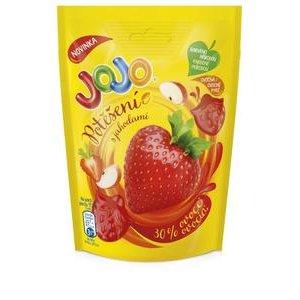 JoJo Potešenie - Želé z jablčného a Jahodového pyré 90 g