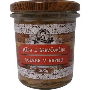 Mäso z Bravčového kolena v aspiku Gazdovský dvor 300g