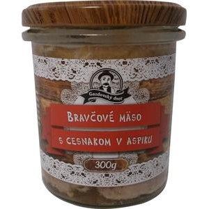 Bravčové mäso s cesnakom v aspiku Gazdovský dvor 300g